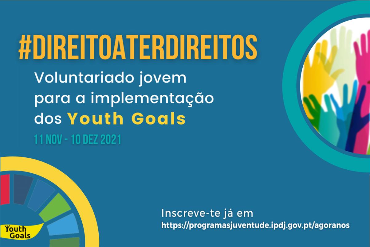 Voluntariado Jovem #direitoaterdireitos